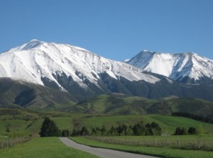 נוף עוצר נשימה - עבודה בניו זילנד